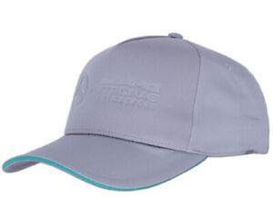 CAP Curved Peak Formula One 1 Mercedes AMG Petronas F1 Team NEW! Grey Embossed