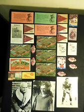 1925-90s University of Minnesota Gophers Lot 44 Photos Cards Stickers Nagurski