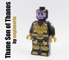 LEGO Custom - Thane son of Thanos - Marvel Super heroes mini figure