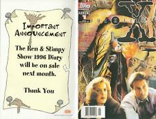 """TOPPS COMICS ANNUAL #1 THE X-FILES, Oct 1995 """"HALLOW EVE"""" - PERFECT as NEW"""