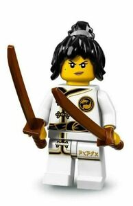 LEGO Minifigures Serie Ninjago Movies Personaggi n° 2 Nya Training Spinjit NAG2