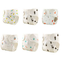 Washable Baby Pocket Nappy Cloth Cotton Reusable Diaper Breathable Cover Wrap CN