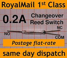 Reed Switch Changeover (SPDT) 0.2A change over N/C N/O reedswitch XGH-3Z small