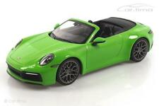 Porsche 911 (992) Carrera 4S Cabriolet Lizardgrün - Minichamps 1:18 WAP0211730LM