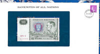 Banknotes of All Nations Sweden 10 Kronor 1979 serie S P-52d UNC BIRTHDAY 194658