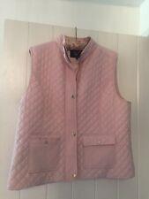 Ladies Viyella Gilet Bodywarmer Pale Pink Size 18
