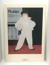 "1979-1980 PICASSO original exhibition poster Grand Palais PARIS FRANCE 20½""x29¾"""