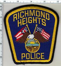 Richmond Heights Police (Ohio) Shoulder Patch from 1997