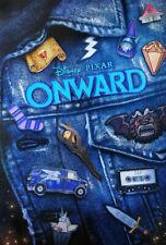 "D23 Expo 2019 Disney Exclusive ""Onward"" Pixar Limited Movie Poster"