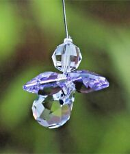 Lilac Guardian Angel Sun Catcher/Rainbow Maker Swarovski Crystal Element