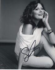 Susan Sarandon Actress B&W Hand Signed 8x10 Autographed Photo COA