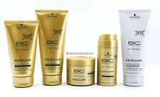 Schwarzkopf BC Bonacure Excellium Taming Shampoo, Conditioner more (CHOOSE YOURS