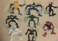 Mcdonalds 2007 Lego Bionicle 8 Figures