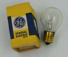 Lot of 12 Vtg Ge S11 Light Bulbs 10S11N Clear 10W Appliance Bulbs Usa Made