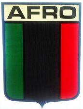Original Afro Flag Iron On Transfer