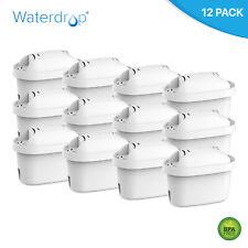 12 Waterdrop Filter Cartridges to fit Brita Maxtra & Maxtra+ Water Pitcher Jugs