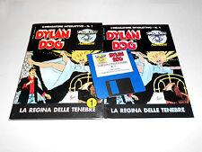 DYLAN DOG l'indagatore interattivo 1 regina delle tenebre simulmondo  Amiga