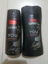Lynx hacha que Anthony Joshua Edición Limitada Body Spray Desodorante & Gel de Ducha
