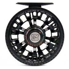 Hardy Ultralite CA DD 4000 Reel Black - BACKING AND FLY LINE OFFERS - ON SALE