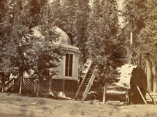 MAMMOTH GROVE STUMP HOUSE CALAVERAS CO CALIF STEREOVIEW J.P. SOULE 1870