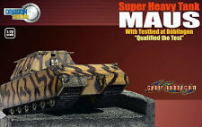 1:72 Dragon Armor #60324 Qualified the Test Super Heavy Tank Maus with Testbed