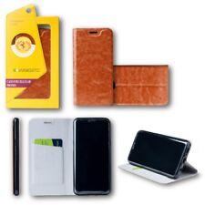 pour Huawei P20 lite clapet / Smart Cover marron étui de protection couverture,