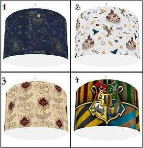 """HARRY POTTER  Ceiling Light shade  Lampshade 4 DESIGNS IN 2 SIZES 10"""" 12"""""""