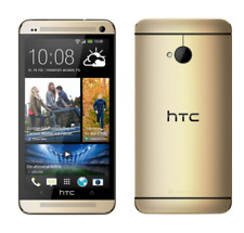 "New HTC One M7 Unlocked 4.7"" Quad-core Android OS Smartphone 32GB 4.0MP - Gold"