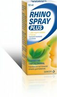 RHINOSPRAY PLUS 10ml Nasal spray Drops For Colds and Allergies