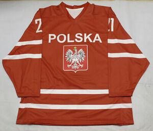 Team Poland PRO Hockey Jersey DK XL