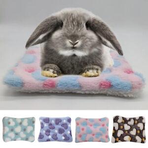 Small Animal Pet House Hammock Bed Pad Fleece Guinea Pig Hamster Bed Mat Soft