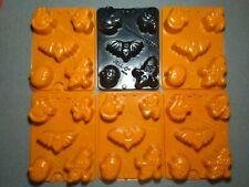 Jello Jiggler Halloween Molds LOT OF 6 Jello Shots / Soaps / Candy / Dessert