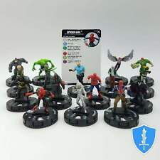 Complete Set 16 Common - Marvel Earth X HeroClix Miniature Lot