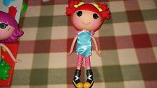 """Lalaoopsy Full Size 13"""" Red  Haired Doll w Clothes and Shoes! MGA"""