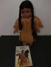 American Girl Doll Kaya + Meet Book Classic Retired Native American Pleasant CO