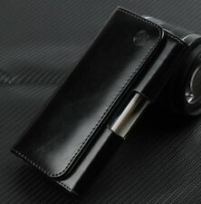 For iPhone Series Universal Genuine Leather Belt Clip Loop Holster Case Cover