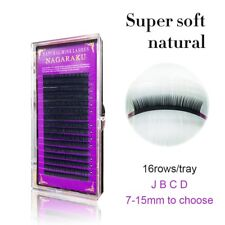 Individual Eyelash Extension NAGARAKU Natural False Fake Lashes Russian Volume