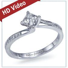 White Gold I1 14k 0.75 - 0.99 Diamond Engagement Rings