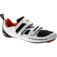 Mavic Cosmic Elite Tri Cycling Shoes - White / Black  / Orange- RRP £110