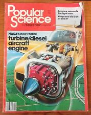 April 1982 Popular Science Magazine - NASA's New Aircraft Engine & More
