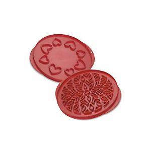 Nordic Ware Lattice & Hearts Pie Top Cutter Lattice and Hearts