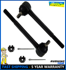 2 New ES2020RLT Steering Tie Rod End For Chevrolet GMC Buick Cadillac 1985-2005