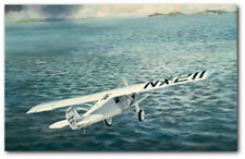 """THE 28TH HOUR by Keith Ferris -Ryan NYP """"Spirit of St. Louis -Aviation Art Print"""