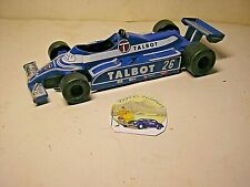 Macchinina Polistil Talbot Liger JS 17 Made in Italy Die-cast scala 1:23 #SP