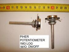 POTENCIOMETRO  CARBON CEDE POTENTIOMETER P8 2M LIN W//O ON//OFF