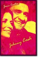 JOHNNY CASH & JUNE CARTER PHOTO PRINT POSTER GIFT