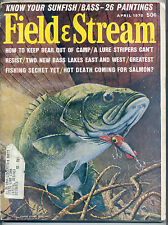 4/1970 Field and Stream Magazine