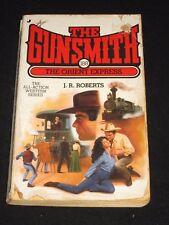 wmf* SALE : J.R. ROBERTS ~ THE GUNSMITH #188 THE ORIENT EXPRESS  Western