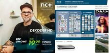 Telewizja na Karte NC + Dekoder ITI 2851 PVR USB de inicio + Confort + Filmbox 6m Gratis