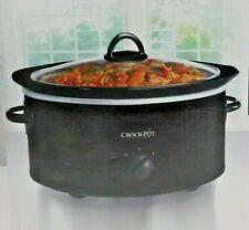 Crock Pot Three Quart Black Oval Slow Cooker by Crock-Pot